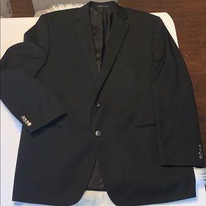 Chaps Ralph Lauren black blazer size 48L